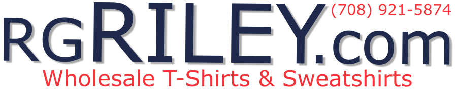 RG Riley Wholesale T-Shirts & Sweatshirts | Bulk Blank Plain Tee Shirts